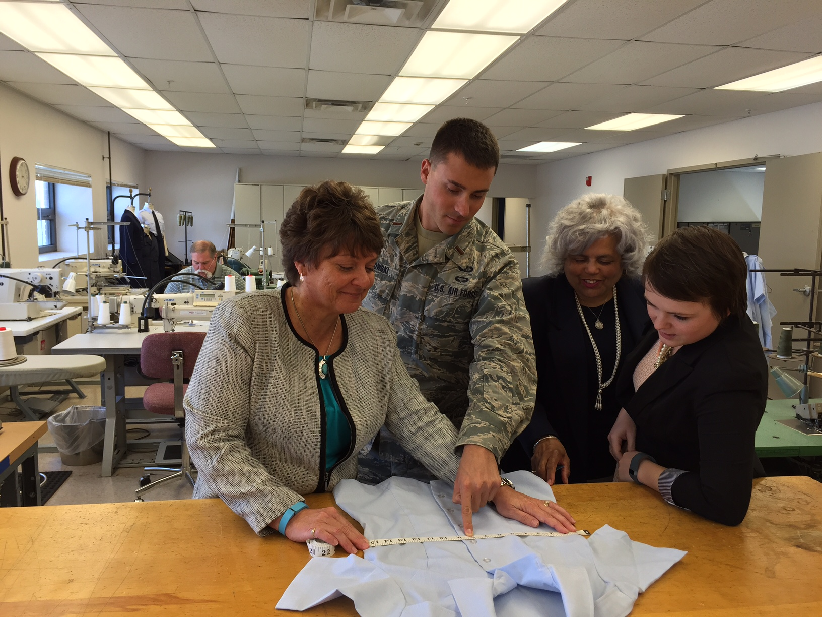 af uniform office designs for entire force new modifications