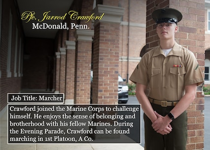 Pfc. Jarrod Crawford