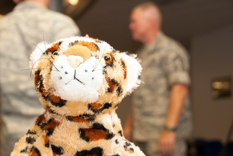 """El Tigre"" continues to serve as the 162nd Wing's mascot, just as it did in May of 1956 when an inceptor squadron in Southern Arizona would become the latest Air Force component. Sixty years later, with multiple-mission capabilities, the 162nd Wing's contribution to homeland security, coalition-partner building and national defense cannot be overstated. (U.S. Air National Guard Photo by Tech. Sgt. Erich B. Smith)"