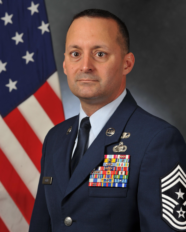 Chief Master Sergeant Michael S Joseph Gt 25th Air Force