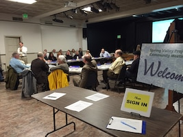Spring Valley Restoration Advisory Board Meeting