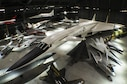 DAYTON, Ohio (05/2016) -- An overhead view of the fourth building aircraft at the National Museum of the United States Air Force. The fourth building includes more than 70 aircraft in four new galleries -- Presidential, Research & Development, Space and Global Reach. (U.S. Air Force photo by Ken LaRock)