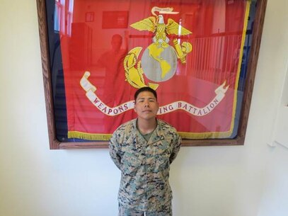 Coach of the week is Cpl Rojas, Raymondo, G. from MAG 14.