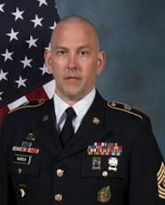 Army 1st Sgt. Michael S. Warren