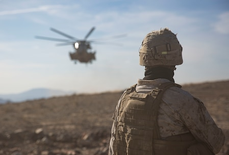 U.S Marines with 2nd Transportation Support Battalion (TSB),  prepares to anchor ropes to a Humvee durring the Integrated training exercise (ITX) on Twentynine Palms, Ca., May. 13, 2016. 2nd TSB and subordinate units participated in ITX 3-16 to ensure all elements of Special-Purpose Marine Air Ground Task Force 2 are prepared for upcoming deployments and operational commitments.