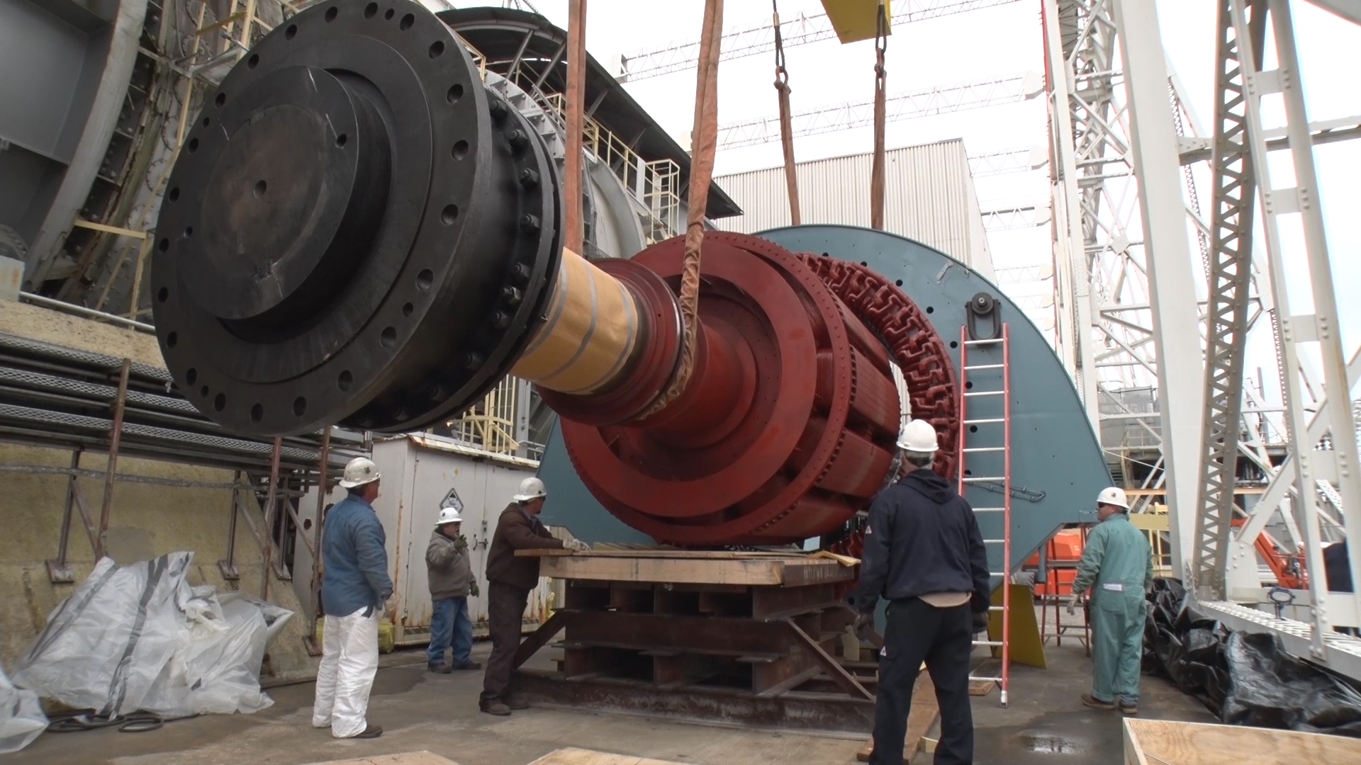 Original Stator Replaced At Aedc Propulsion Wind Tunnel
