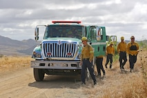 CAMP PENDLETON, Calif. – The Camp Pendleton fire Department conducted a hazard reduction burn here, May 21. The hazard reduction burn was conducted to improve firefighter and public safety, protect property and minimize smoke impacts in the 52 Area, San Clemente and the I-5 Freeway. The burn aims to protect base property and the natural habitat by decreasing the possibility of human caused ignitions and limiting the severity and size of potential wildfires.