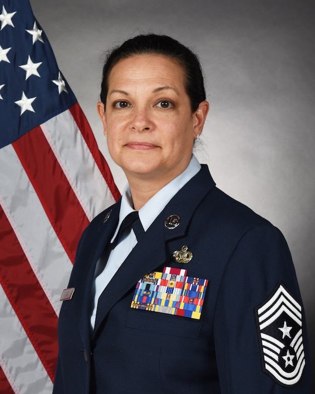 New Jersey Air National Guard State Command Chief Master Sgt. Janeen Fillari (U.S. Air National Guard photo by Master Sgt. Carl Clegg/Released)