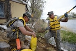 Wyoming National Guard helps bolster river's banks