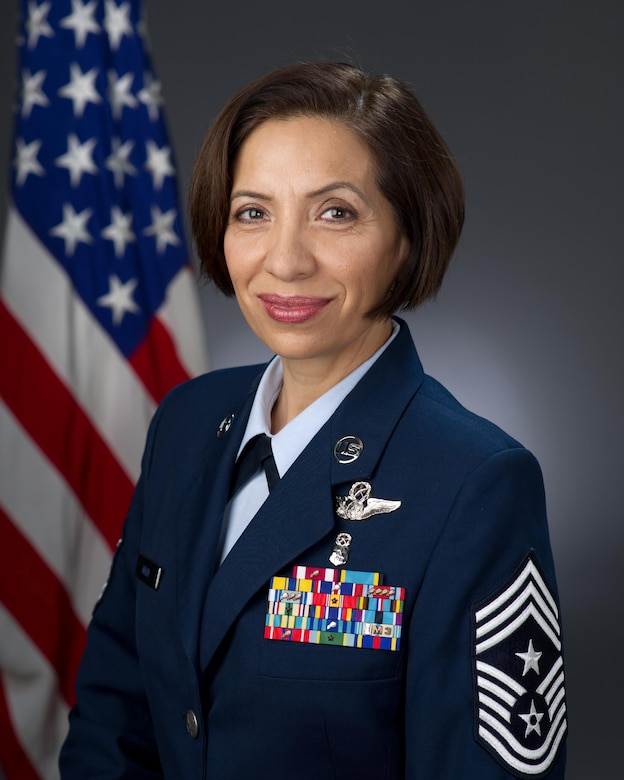 Chief Master Sgt. Ericka Kelly, command chief master sergeant, Air Force Reserve Command