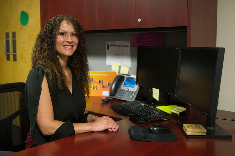 April Crooks, the project administrator for the Commando Ready Resilience Center with the 1st Special Operations Aerospace Medical Squadron, encourages Airmen going through a difficult time to seek help by using various resources like the Preservation of the Force and Family Program, Resilience Center and the Military Family and Life Counseling program at Hurlburt Field, Fla., May 18, 2016. Crooks facilitates the suicide alertness for everyone, Talk, Ask, Listen, Keepsafe (safeTALK) course which teaches Airmen how to identify signs of suicide risk and where to seek help. (U.S. Air Force photo by Airman Dennis A. Spain)