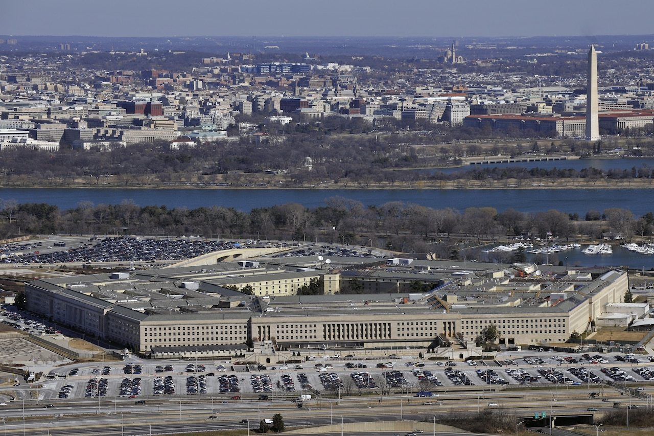 The Defense Department is restructuring its headquarters staffs as it looks to save $1.9 billion in a 25 percent reduction of costs. Air Force photo by Senior Airman Perry Aston