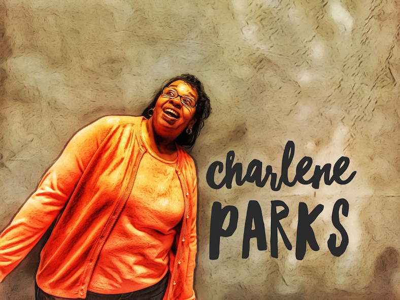 Getting to know you: Charlene Parks (U.S. Air Force illustration by Claude Lazzara)