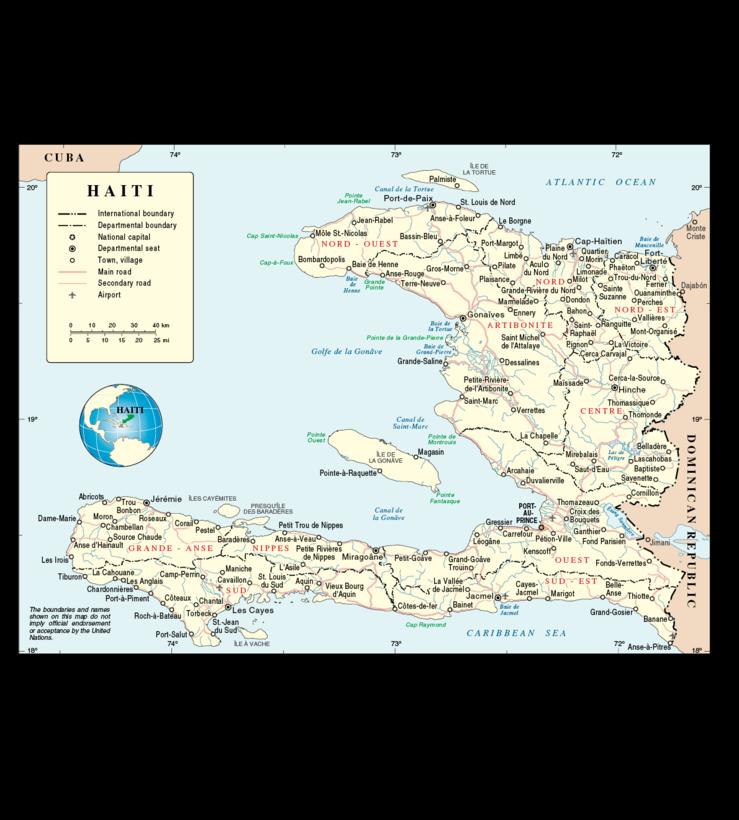 Haiti No. 3855 Rev.4 United Nations June 2008