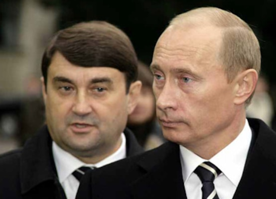 Figure 11.6 Levitin and Putin