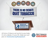 Join tobacco users everywhere and ditch tobacco on May 31, World No Tobacco Day.
