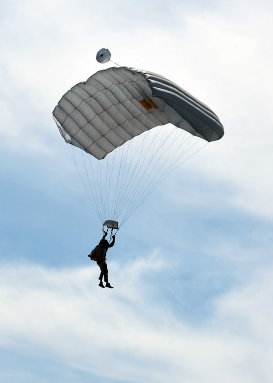 U.S. Air Force Reservists assigned to the 306th Rescue Squadron practice skydiving in Eloy, Ariz., May 14. The 306th RQS is assigned to the 943rd Rescue Group at Davis-Monthan Air Force Base, Ariz. Air Force pararescuemen, also known as PJs, are the only Department of Defense elite combat forces specifically organized, trained, equipped and postured to conduct full-spectrum personnel recovery to include both conventional and unconventional combat rescue operations. These battlefield Airmen are the most highly-trained, versatile personnel recovery specialists in the world. Pararescue is the nation's force of choice to execute the most perilous, demanding and extreme rescue missions anytime, anywhere across the globe. (U.S. Air Force photo by Tech. Sgt. Carolyn Herrick)
