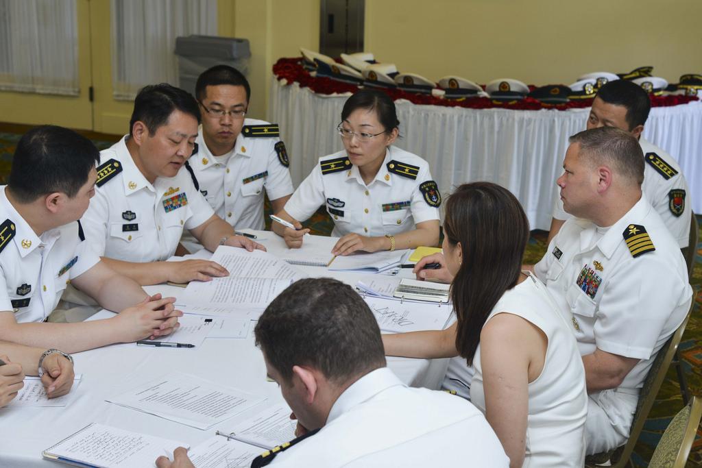Pacific Fleet Holds Military Maritime Consultative Agreement Talks