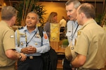 Twenty-six nations were represented at the fourth annual Land Forces Pacific Symposium and Exhibition, held in Honolulu May 24-26, 2016. LANPAC is a professional development forum sponsored by the Association of the United States Army Institute of Land Warfare. The event enabled U.S. Army, State Department, joint and regional partners to discuss the critical roles of the land forces in the Indo-Asia Pacific region. Army photo by Staff Sgt. Brandon C. McIntosh