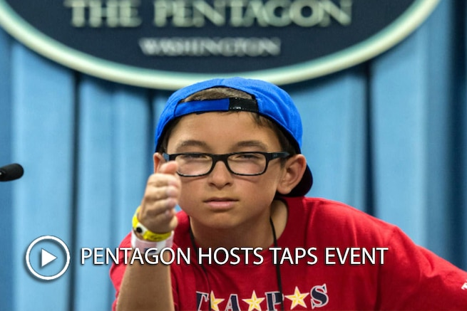 Defense Secretary Ash Carter and other DoD leaders hosted a Tragedy Assistance Program for Survivors, or TAPS, event at the Pentagon, May 27, 2016. The event gathered families for a night of fun and remembrance to coincide with Memorial Day weekend. TAPS supports those who have lost a family member in the military.