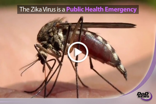 The Defense Department is closely monitoring the spread of the Zika virus and is working with the Centers for Disease Control and Prevention to assist in virus surveillance, response and research efforts. The department's highest priority is the health and safety of active duty service members, DoD civilians and their families, and the DoD has begun taking swift action to reduce exposure to this emerging disease.