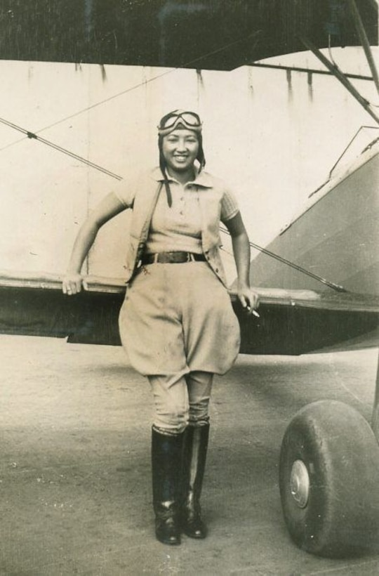 Hazel Ying Lee was one of the first two Chinese Americans in the Women Air Force Service Pilots. Members of the WASP program were the first brave women to fly American military aircraft, forever changing the role of women in aviation. Their dedicated service and record of excellence served as a gateway for future Airmen.