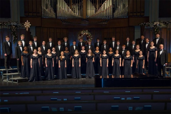 DAYTON, Ohio --The Kettering Children's Choir consists of four separate choirs (Chorus, Chorale, Concert Choir, and Cappella). Pictured here is the Cappella Choir. (Photo by Adam Alonzo)