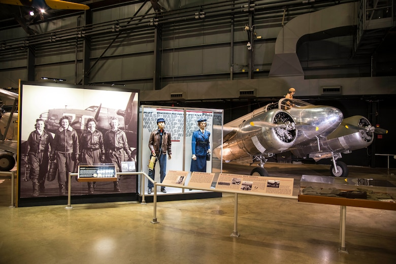 DAYTON, Ohio -- Women Airforce Service Pilots (WASP) Exhibit in the WWII Gallery at the National Museum of the U.S. Air Force. (U.S. Air Force photo by Ken LaRock)