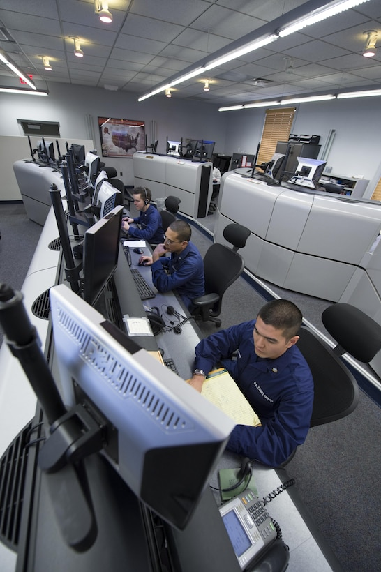 The Coast Guard's Cyber Strategy emphasizes three strategic priorities: Defending Cyberspace, Enabling Operations, and Protecting Infrastructure. (U.S. Coast Guard photo by Petty Officer 2nd Class Etta Smith)