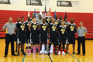 U.S. All-Army Men's Basketball Team.  The 2016 Armed Forces Men's Basketball Championship held at MCB Quantico, Va. from 1-7 November.  The best two teams during the doubel round robin will face each other for the 2016 Armed Forces crown.