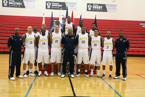 U.S. All-Navy Men's Basketball Team.  The 2016 Armed Forces Men's Basketball Championship held at MCB Quantico, Va. from 1-7 November.  The best two teams during the doubel round robin will face each other for the 2016 Armed Forces crown.