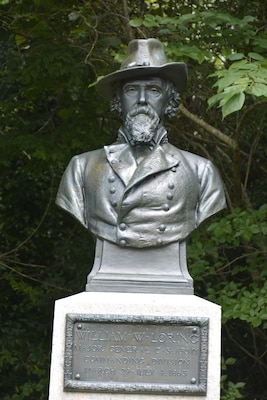 Confederate Maj. Gen. William W. Loring commanded the Confederate forces at Fort Pemberton whose determined defense terminated the Yazoo Pass Expedition and compelled the Federals to find another route to Vicksburg.