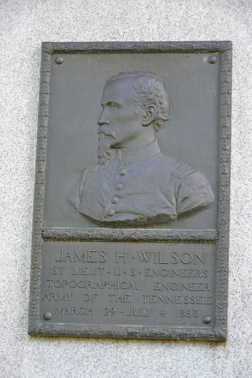 Union Lt. Col. James H. Wilson served as a topographical engineer during the Vicksburg campaign, and was a favorite of Gen. Grant's, who selected him to open the Yazoo Pass.