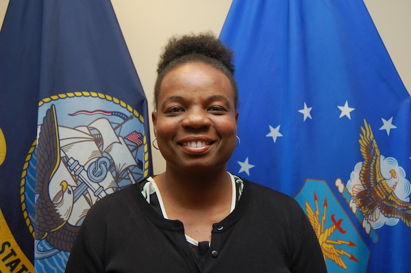 Christal M. Jones is a performance advocate and Defense Finance and Accounting Service liaison at DCMA headquarters. She has been with the agency for seven years. (DCMA photo by Tonya Johnson)
