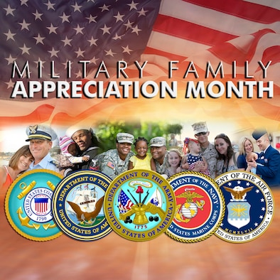 "On October 28, 2016, President Barack H. Obama signed a Presidential Proclamation declaring November to be ""National Military Family Month."" Since 1993, the month of November has been an opportunity to honor the commitment, sacrifice, dedication and service of military members and their families who give so much to the service of our nation."