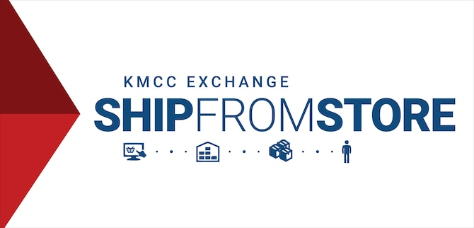 The Kaiserslautern Military Community Center's ship-from-store program allows KMC members to have their items ordered off shopmyexchange.com shipped from the KMCC. This will significantly shorten the time it takes for customers to receive their products. (Courtesy illustration)