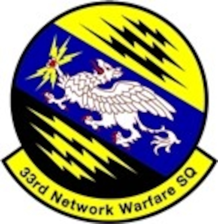 The 33 Network Warfare Squadron (33 NWS) is located at Joint Base San Antonio-Lackland , Texas as part of the 26th Cyberspace Operations Group and the 67 Cyberspace Wing, both located at JBSA-Lackland AFB, Texas. These are subsequently aligned under the 24th Air Force and Air Force Space Command.