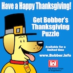 Get Bobber's Thanksgiving Puzzle at www.bobber.info