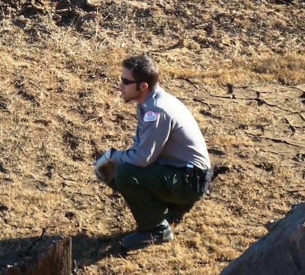 Hensley Lake park ranger Nick Figueroa