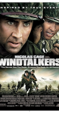 The movie Windtalkers will be shown  at 5 p.m., Thursday, Nov. 10, in the base theater. Admission is free.