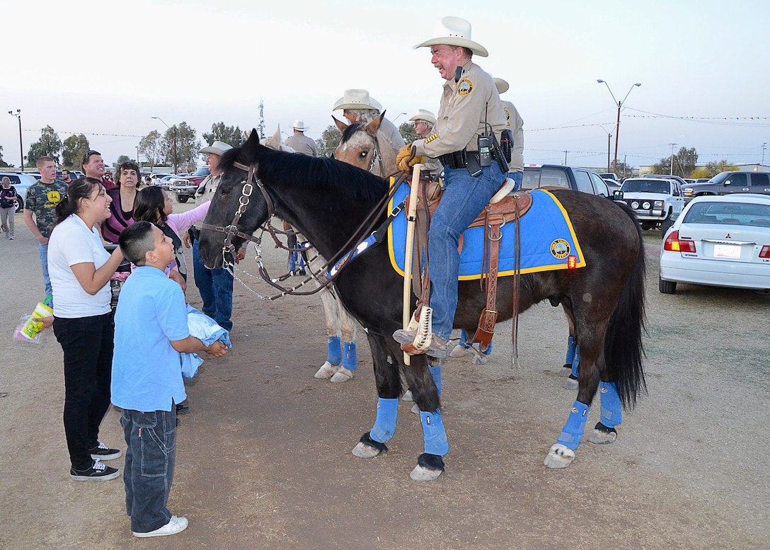 Law enforcement agencies can also acquire some property from DLA through normal channels for property donation. That's how Tommy the Horse went to Yuma, Arizona, after he retired from helping pull caissons at a San Antonio, Texas, military cemetery.