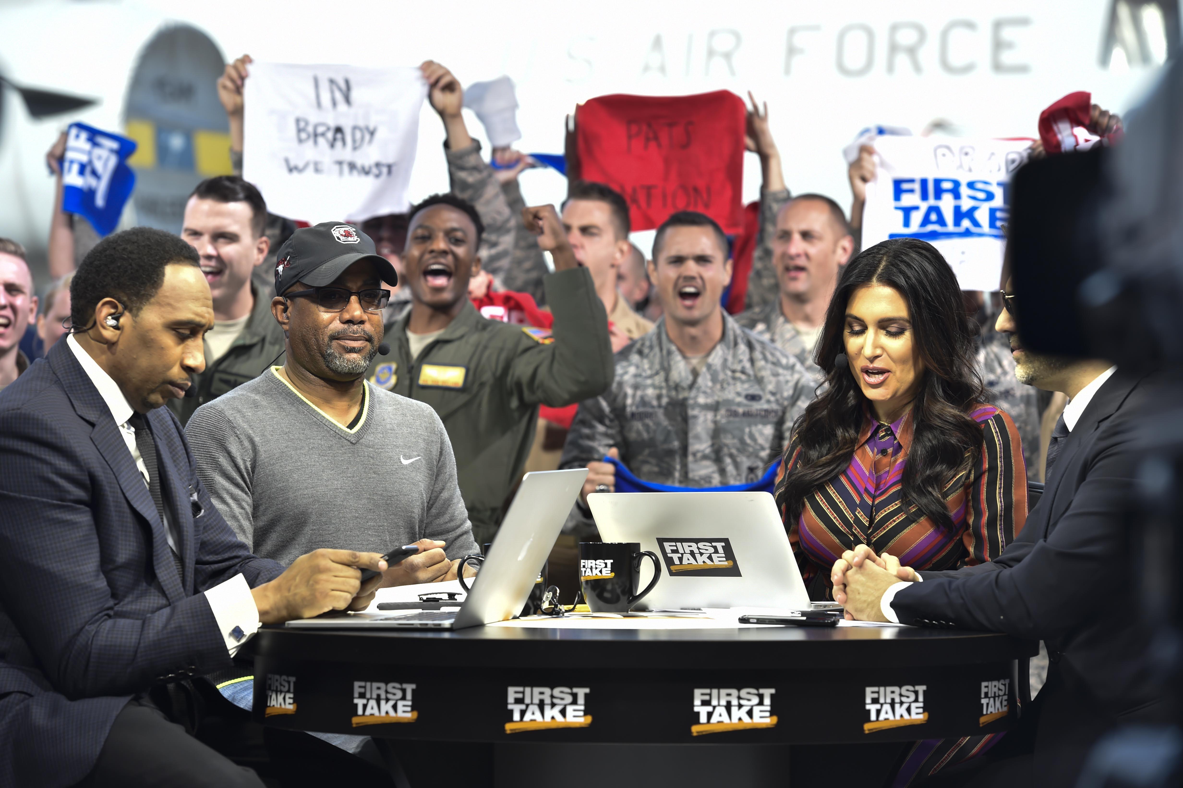 ESPN takes on JB Charleston