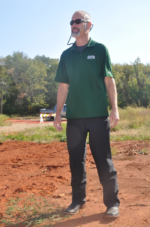 Barry Hodges, a chemical engineer at the U.S. Army Corps of Engineers in Savannah, is a project lead on cleaning contaminated land at Redstone Arsenal in Huntsville, Alabama. Hodges and a team of Army scientists and engineers are employing electrical resistance heating, an environmental remediation method, to treat 385 contaminated sites on the arsenal.