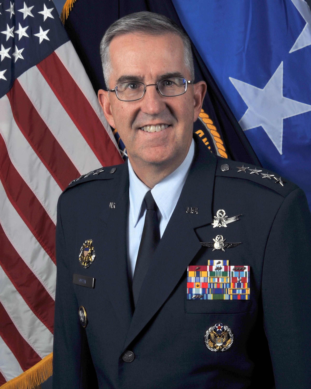b49231a189 GENERAL JOHN E. HYTEN > U.S. Air Force > Biography Display