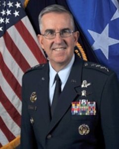 Official photo of General John Hyten, CDR of STRATCOM