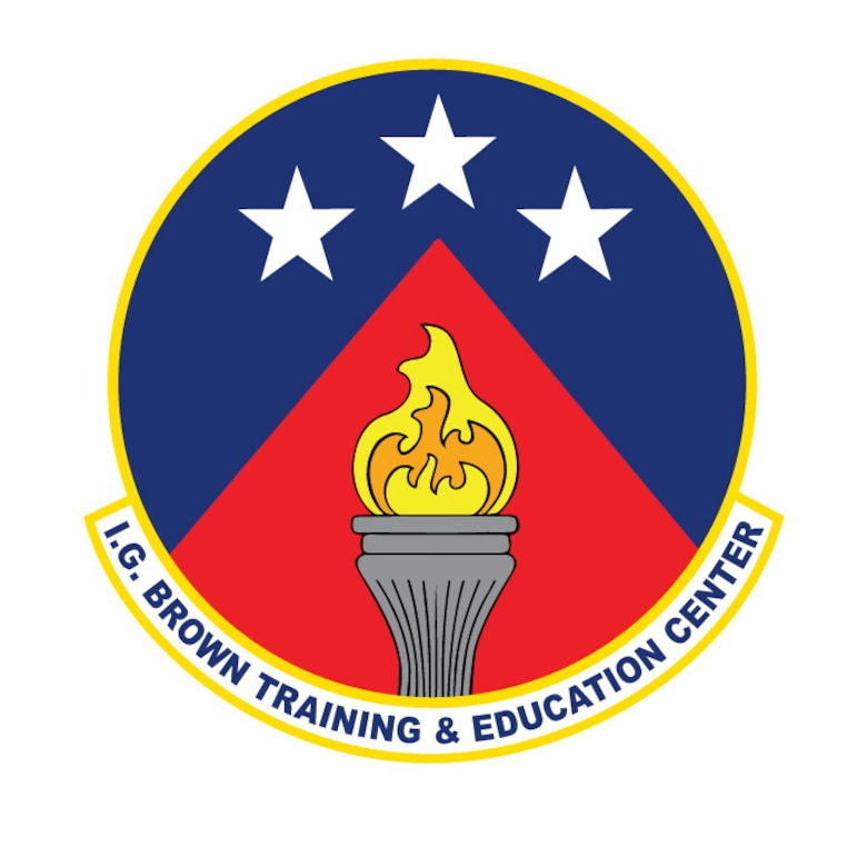I.G. Brown Training and Education Center official logo. (U.S. Air National Guard graphic.)