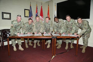 Maj. Gen. Wehr pulled his commanders and senior leaders together for the regional summit meeting (R5) in Vicksburg in November to foster ways to work more effectively as a regional team to solve difficult challenges. The leaders developed a list of focus areas for FY 17 which include the following: Strengthen the Foundation (Doing the routine things to an exceptionally high standard, routinely.)