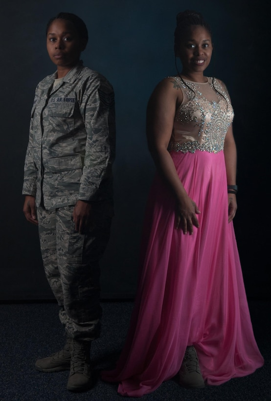 U.S. Air Force Tech. Sgt. Antonia Williams, 39th Air Base Wing Equal Opportunity counselor, was chosen as a one of six USAF representatives in the Ms. Verteran America 2016 competition in Washington, D.C. The competition highlights military women and their service through programs like Final Salute, an initiative to raising awareness for homeless female veterans. (U.S. Air Force photo illustration by Staff Sgt. Ciara Gosier)