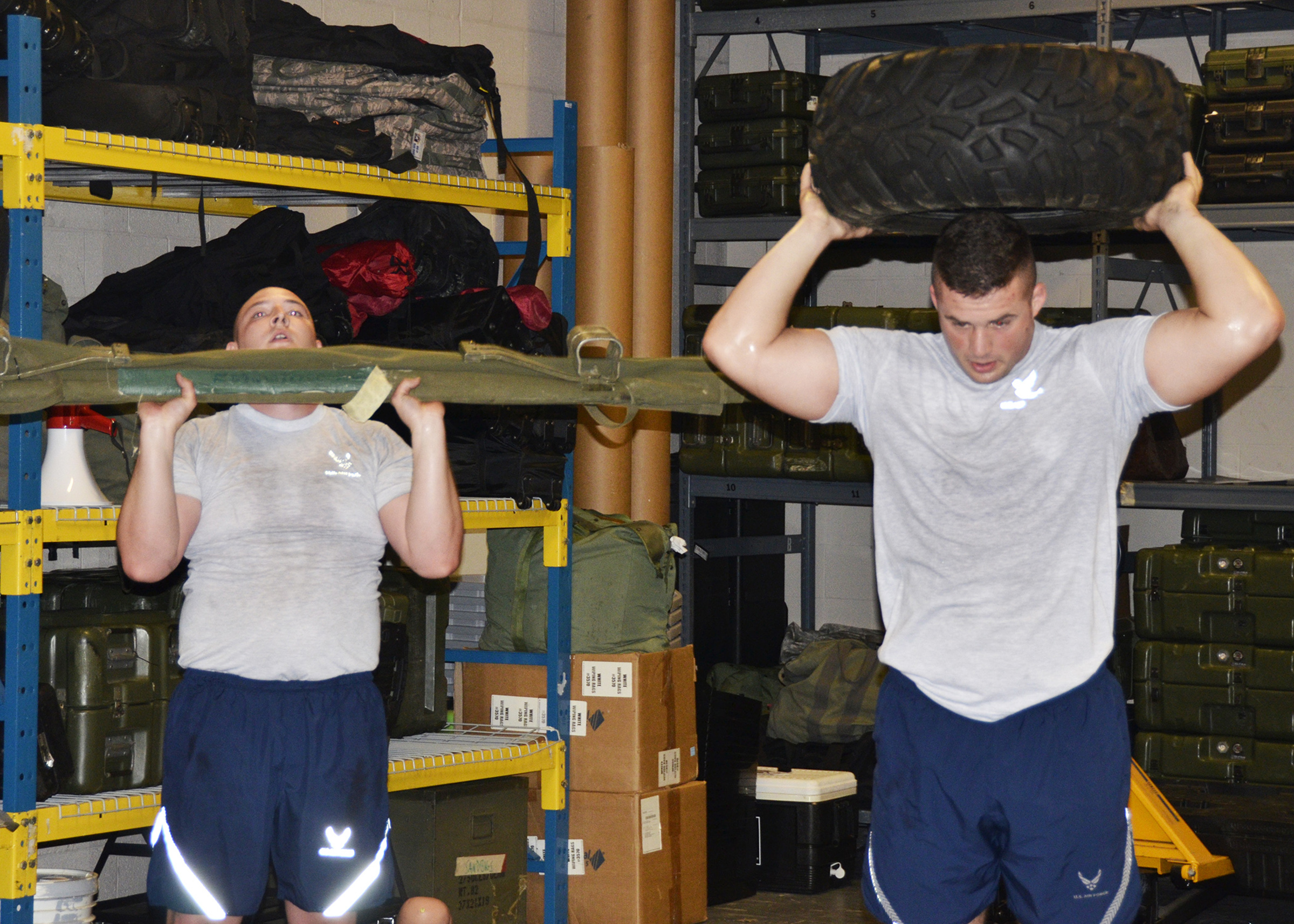 445th SFS tackles physical fitness > 445th Airlift Wing