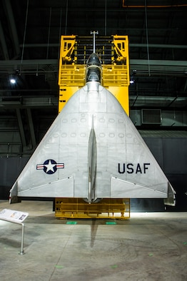 DAYTON, Ohio -- Ryan X-13 Vertijet on display in the Research & Development Gallery at the National Museum of the U.S. Air Force. (U.S. Air Force photo by Ken LaRock)
